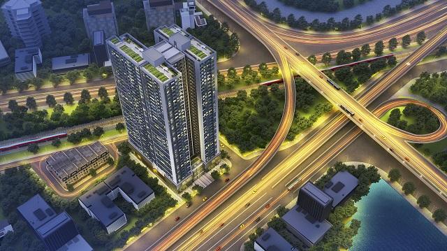 Phối cảnh dự án Hoang Huy Grand